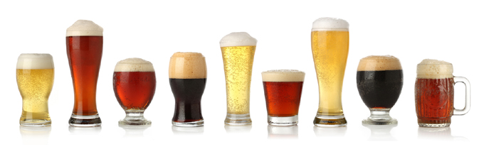 Craft Beer Glass Styles
