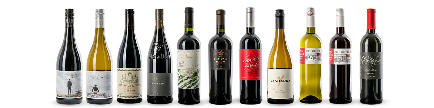 The eleven wines featured by WineCollective in May 2020