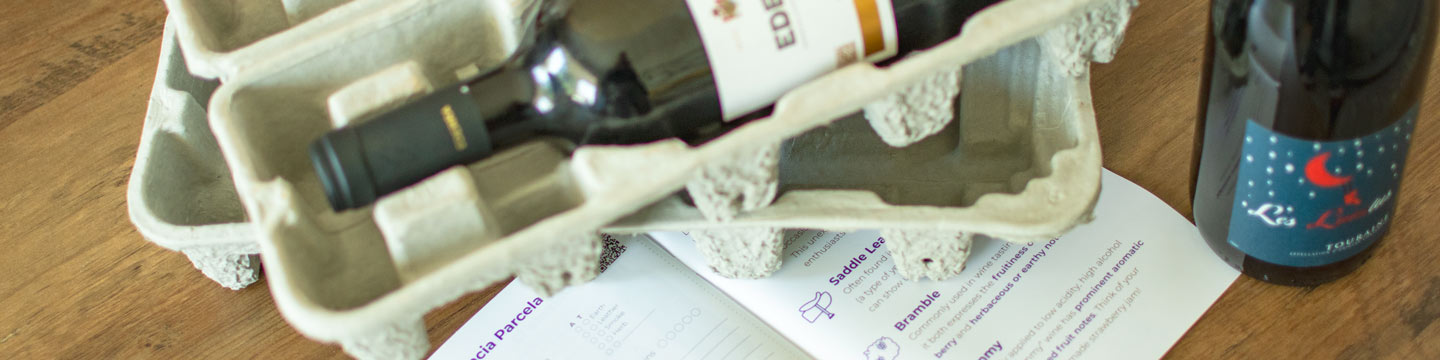 Preview of the contents of a WineCollective subscription box - a Father's Day gift idea.