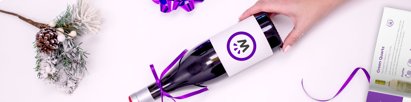 A bottle of wine from WineCollective as a gift for your mom this holiday season.